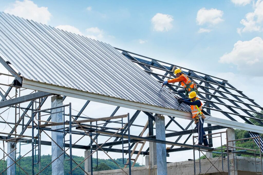 Commercial Metal Roofing-Quality Metal Roofing Crew of Kendall