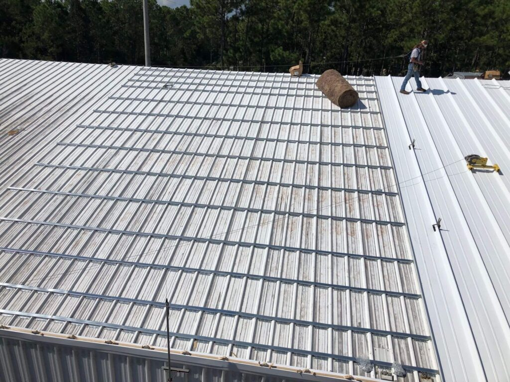 Re-Roofing (Retrofitting) Metal Roofs-Quality Metal Roofing Crew of Kendall